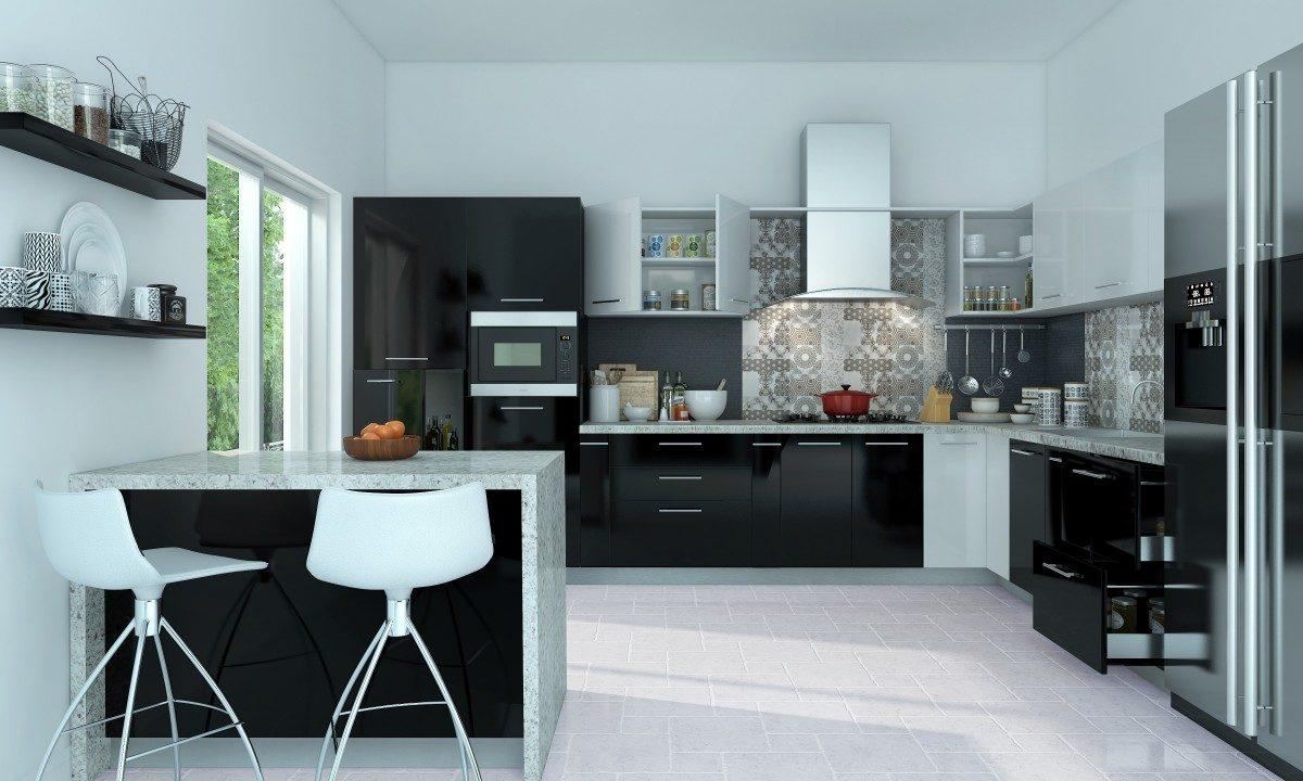 Modular Designer Kitchen – Abhishek Art Glass